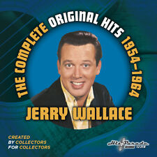 New CD Complete Original Hits Of Jerry Wallace 1954-1964 25 Tracks 13 CD Debuts