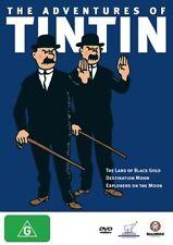 The Adventures Of Tintin : Vol 4 (DVD, 2006) Region 4 Children's Animate DVD VGC