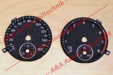 1 Set Dials/Speedometer discs/gauges VW Golf 6 GTI 2,0TSI US MPH