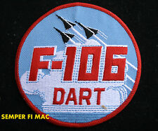 CONVAIR F-106 DELTA DART PATCH US AIR FORCE AFB WING PIN UP AIR NATIONAL GUARD