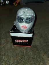 John Force Mini Simpson Helmet Dupont No Fear Castrol GTX