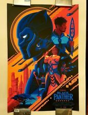 BLACK PANTHER Variant by Tom Whalen - Art Print Poster (like Mondo) - No. 31/100