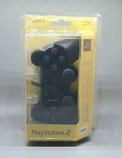 Sony PlayStation 2 Original DualShock 2 Controller Black / Schwarz ( PS2 ) NEU