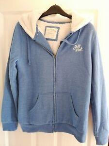 SaltRock Blue Fleece Hoodie Size 10