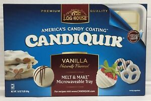 Log House Candiquik Vanilla Flavored Candy Coating 16 oz