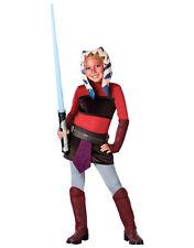 """Star WARS Kinder Clone Wars Ahsoka Kostüm s2, LRG, alter 8-10, Höhe 4' 8"""" - 5'"""