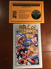 BAD GIRLS OF BLACKOUT ANNUAL # 1 NM SIGNED BY BRUCE SHOENGOOD LIMITED