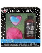 Fresh Vibes Scented Bubble Bath Gift Set. New.