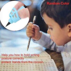 1Pcs Children Pencil Holder Corrector Writing Hold Grip Posture Random Tool X4P5
