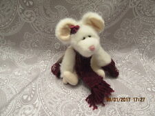 "Boyds Bears Plush ""Chutney Cheeseworthy"" Mouse Retired Nwt"