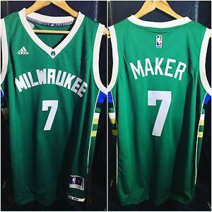 Thon Maker Milwaukee Bucks Road Swingman Jersey
