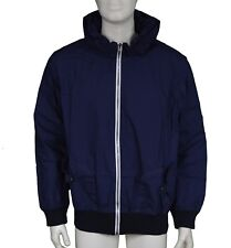 B-Side By Wale Navy Blue Bomber Jacket Men's Size S Small