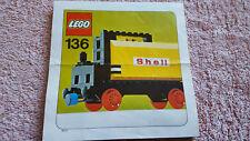 Lego Vintage Train - Set 136 - Instructions