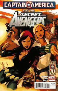 Captain America and the Secret Avengers (2011) #1 NM MARVEL COMICS 2011