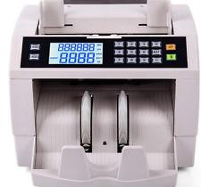 K-301 Vertical Digital Money Counter EURO US DOLLAR Bill Cash Counting Machine M