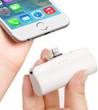Portable Phone Charger iPhone iPad power bank built-in lightning cable iwalk