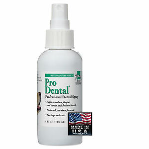 TOP PERFORMANCE ProDENTAL PET DENTAL SPRAY*Clean TEETH,Mouth-REDUCE ODOR,PLAQUE