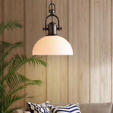 Glass Pendant Light Bar Lamps Kitchen Chandelier Lighting Bedroom Ceiling Light