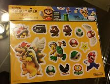 Nintendo Super Mario Maker Gamboy 3DS Magnet Builder Set New in Sealed Package