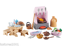 NEW and COMPLETE Playmobil Princess - Castle Kitchen 6521