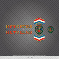 01178 Hetchins Bicycle Stickers - Decals - Transfers