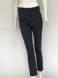 Gorgeous Womens Ted Baker Geo Print Blue Skinny Stretch Jeans Waist 28 R UK 10