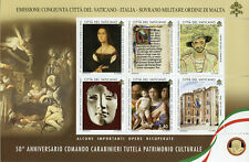 Vatican City 2019 MNH Carabinieri Art Squad TPC 1v M/S Police Paintings Stamps