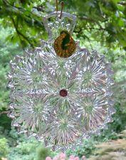 "WATERFORD Crystal 2016 Snowflake Wishes ""Serenity"" Christmas Ornament 6th Ed NIB"