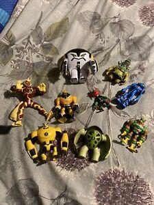 Ben 10 action figures bundle /Collection 9 x Ben 10 Figures