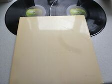 THE BEATLES (WHITE ALBUM )VERY EARLY TOP OPENING MONO UK ISSUE APPLE PMC 7068