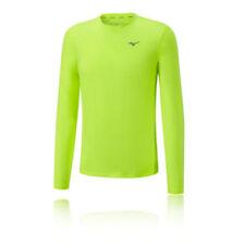 Camisetas y polos de deporte de hombre de manga larga en verde