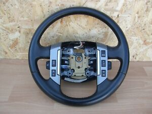 Range Rover Sport & Discovery 3 Leather Steering Wheel Complete With Switches.