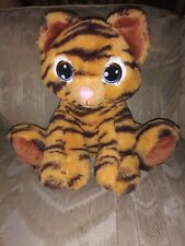 "Build A Bear Workshop Tiger Plush 12"" Orange Black Stripes Stuffed Animal..."