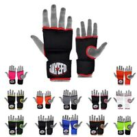 JAYEFO ™ Gel Padded Inner Gloves with Hand Wraps MMA Muay Thai Boxing Fight PAIR