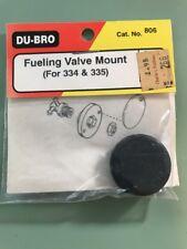 Du-bro Fueling Valve Mount For 334&335  Valves