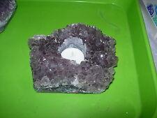 amethyst geode cluster crystal t lite TL5