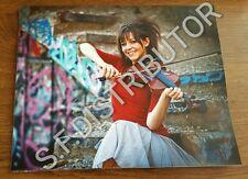 Lindsey stirling color  8x10 print violinist
