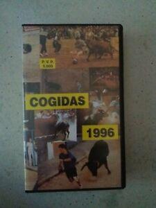 ***VENDO VHS COGIDAS 1996 - OTTIME CONDIZIONI***