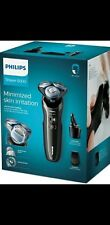 Philips 6000 Wet & Dry Electric Shaver Precision Trimmer S6680/26 smart clean