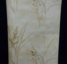 Golden Rod Flower Stems Wallquest Wallpaper #SG51303 (Lot of 6 Dbl rolls)
