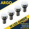 Luz Ámbar Amarillo 19 Led 581 Py21w 1156 Luz Direccional Bombillas Bau15s 12v