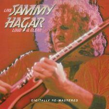 Sammy Hagar Loud & Clear Live CD NEW SEALED 2010 Digitally Remastered Metal