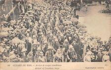 Guerra di 1914 - Arrivée truppe canadesi