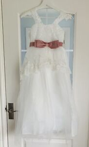 *NEW WITH TAGS* Ivory flower girl / wedding / Holy Communion / Princess dress