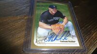 1999 TOPPS JEFF  WINCHESTER #T54  AUTOGRAPHED BASEBALL CARD