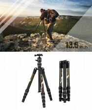 K and F Concept TC2335 Compact Travel Carbon Tripod Ball Head H134.8cm Japan EMS