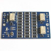 ATTENUATOR / TRANSVERTER INTERFACE BOARD ham radio 50mhz 70mhz 144mhz 222mhz