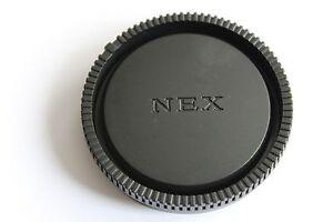 SONY NEX für  E - MOUNT Objektiv Deckel  Rückdeckel Objektivdeckel Rear Lens Cap