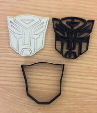 Transformers Logo Uk Seller Plastic Biscuit Cookie Cutter Fondant Cake Decor