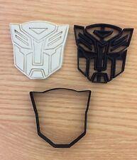 Logotipo de Transformers Reino Unido Vendedor plástico Bizcocho Masita Cortador Fondant Pastel Decoración